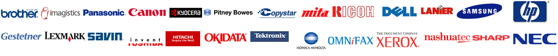 Supported Brands for Copier Lease Fort Wayne